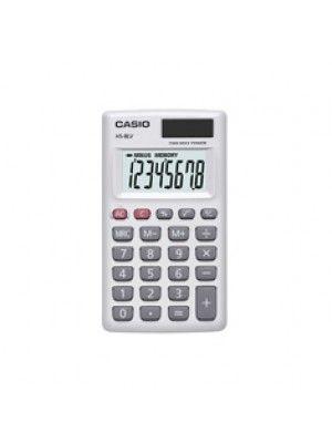 CAS HS-8LV-WE CALCULADORA BOLSILLO 8 DIG GRAN PANTALLA