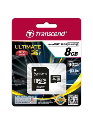 TS8GUSDHC10U1 MEMORIA MICRO SD 8 GB CLASE 10 ULTRARAPIDA