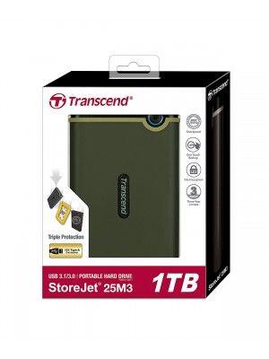 """TS1TSJ25M3G 1TB SLIM STOREJET2.5"""" M3G, PORTABLE HDD"""