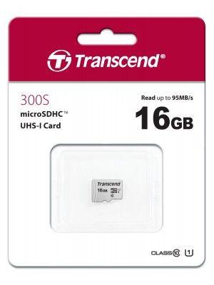TS16GUSD300S 16GB UHS-I U1 microSD w/o Adapter