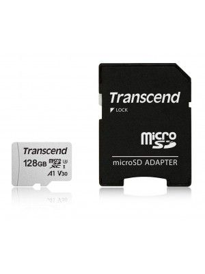 TS128GUSD300S-A 128GB UHS-I U1 microSD w/o Adapter