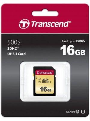TS16GSDC500S  16GB UHS-I U1 SD Card