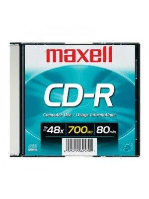 CD-R 700MB CAJA SLIM  80 MIN.