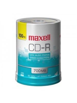 CD-R CD-R 700MB SPINDLE 100 MAXELL