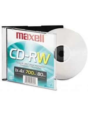 CD-RW 700 4X 1PK CD REGRABABLE