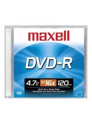 DVD-R 4.7GB CAJA SLIM  UNIDAD