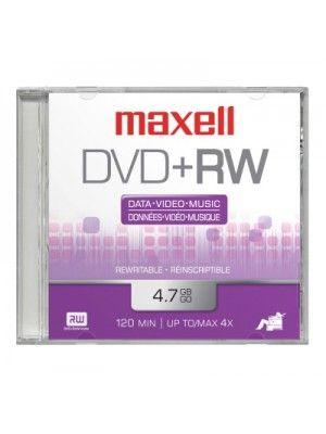 DVD+RW 4X EN CAJA PLASTICA