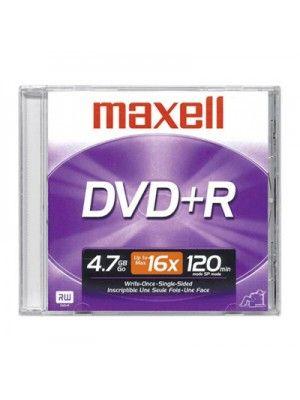 DVD+R 16X EN CAJA PLASTICA