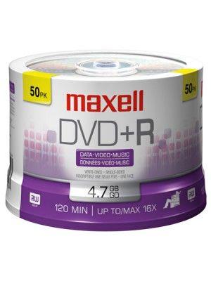 DVD+R SPINDLE DE 50