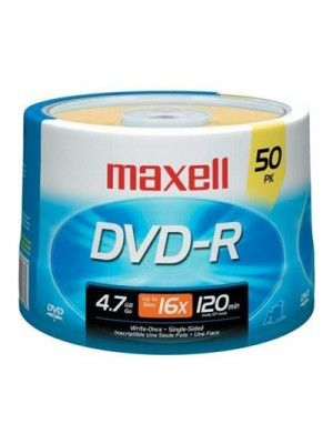 DVD-R 16X 50 SPINDLE BULK