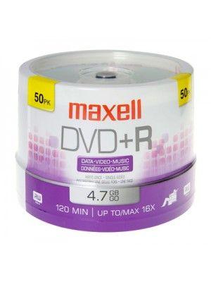 DVD+R 16X BULK DE 50 MAXELL