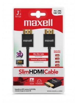 HDMI700-3FT  1.4V ULTRA SLIM HDMI CABLE MAXELL