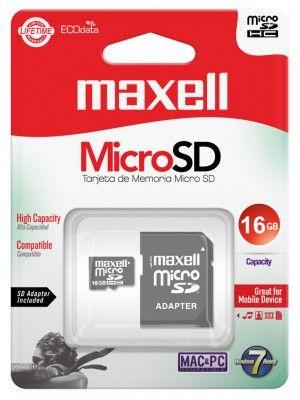 MCSD-16CL10 TARJETA DE MEMORIA 16GB MICRO SDXC CL10 CON ADAPTADOR SD