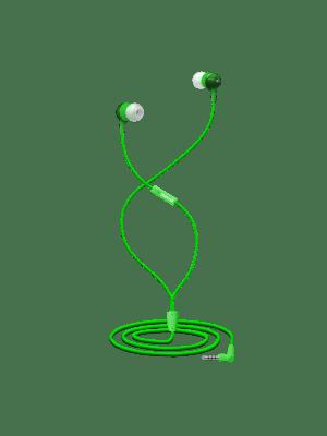 EB-CLOUD9 EARPHONE W/MIC GRN