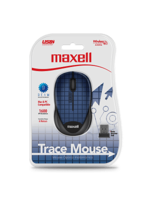 MOWL-250 WIRELESS TRACE MOUSE BLUE