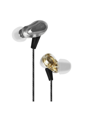 EB-PRO M2 DUAL DIRVER EARBUDS SILVER