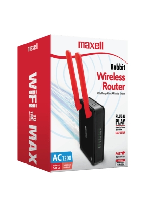 2T2R-1200AC RABBIT WIRELESS ROUTER 802.11AC 1200 Mbps